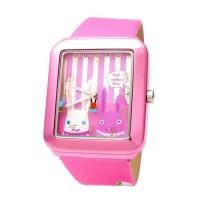 Naughty Naughty Pets NNP-56B Jam Tangan Remaja Wanita Anak Cantik Pink