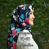 grosir murah jilbab segi empat mayasa square