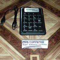 Keyboard Numerik Slim Numeric Keypad with 4 office hotkeys