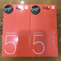 Hp Xiaomi Redmi 5 warna Black Ram 2 GB Rom 16 GB Garansi Tam