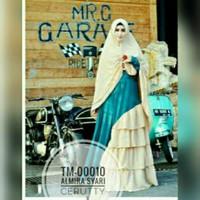 Jual TM-00010 Baju butik almira syari busana muslim pesta mewah gamis TM Murah