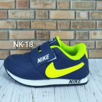 Sepatu Nike Anak Navy Ijo Stabilo NK-18