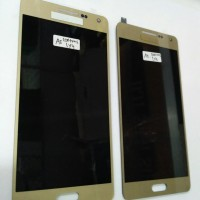 LCD 1 SET FOR SAMSUNG A5 A500H GOLD BISA DI SETTING CONTRAS