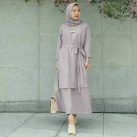 carey dress muslim/baju wanita murah/ gamis murah / grosir baju hijab