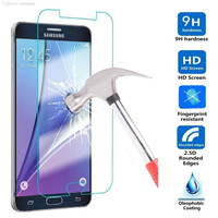 Tempered glass Samsung Note S A J E 2 3 4 5 6 7 8 9 plus anti gores