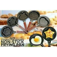 TEFLON PLAYING PAN MINI / Wajan Anti Lengket Roti Biskuit Cake