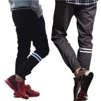 Mejikuu Joger Strip panjang anak remaja celana joger pants anak