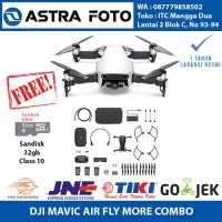 DJI Mavic Air Fly More Combo FREE 32gb Garansi Resmi Dji Indonesia