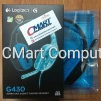 Jual Logitech G430 Gaming Headset Diskon