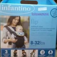 Infantino Flip Front2Back Baby Carrier Gendongan Bayi Hadap Depan