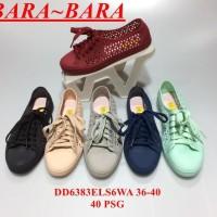 Dijual Jelly Shoes Bara Bara Sepatu Wanita Kets Karet Import Casual