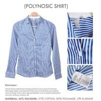 Dijual Office Stripe Shirt Branded Hm | Kemeja Kantor Wanita Lengan