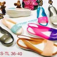 Jual 2061S-Tl Sepatu Wanita Murah Barabara Flatshoes Sepatu Crocs