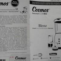 Sale! Blender Cosmos Blenz Cb 802 Cb802 4In1 Cb-802 Murah