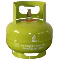 Tabung Gas LPG 3Kg + Isi - Segel (Gosend Only)