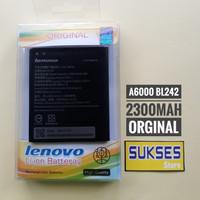 battery lenovo A6000 / baterai Lenovo A6000 BL242 original 100%