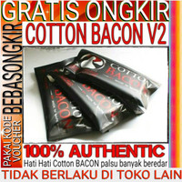 AUTHENTIC COTTON BACON V2 By Wick N Vape - kapas vaping vapor
