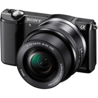 Sony Alpha A5000 Hitam Kamera Mirrorless + Memory SD 8G Premium