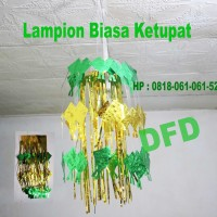 jual dekorasi lebaran / hiasan lebaran / (garland lampion