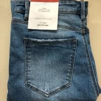 Celana Jeans Wanita Denim Stradivarius Original not lev Berkualitas