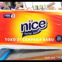 Nice Facial Tissue 1000 Gram Tisu Tisue 1000G Murah