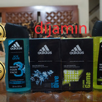 Adidas Parfum EDT Original Import not Garuda / Al Rehab / Body Shop