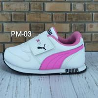 Sepatu Anak Murah Putih Pink