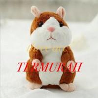 Talking Hamster Toy Kids Doll Mainan Anak Bayi Boneka Mimicry Pet Cute