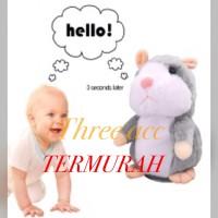 boneka mainan anak bayi talking hamster bicara lucu buat kado