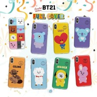Silicon Casing Softcase Hard Kpop BT21 All Friends Oppo find 5 mini
