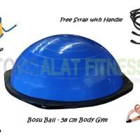 BOSU Ball - Balance Ball Biru Body Gym