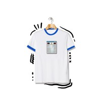 Tshirt - Proud To Post It - Minesweeper Short White - Putih, M