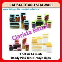 Toples Plastik Kue Calista Otaru Sealware 1 Set Isi 4 Buah Bukan Kaca
