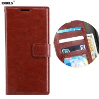 CASING SAMSUNG GALAXY A8 2018/ PLUS FLIP DOMPET LEATHER COVER WALLET