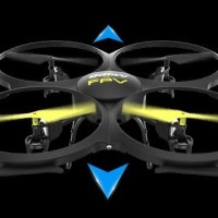REMOT MAINAN Terpilih jadi drone pemula terbaik: UDI U818A WiFi FPV
