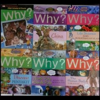 (Promo!!) Buku Komik Pengetahuan Why?