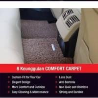 Karpet comfort deluxe khusus All new harrier 2016 2 baris onderdil mur