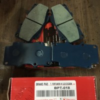 Kampas Rem Depan Fortuner & Hilux D/Cabin (Disc Brake Pad Front)