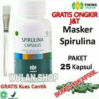 Masker Wajah Spirulina/Obat Jerawat/Flek Wajah/Pemutih Alami