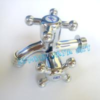 Kran Cabang / Keran Double / Kran Shower , Minimalis