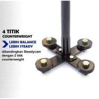 PAKET SteadyCam FOJADU PRO 4S VIDEO stabilizer DSLR kamera