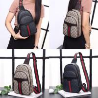 Gucci GG Unisex Waistbag F2270 WB / Tas Waistbag /Tas Cowok / Tas Pria