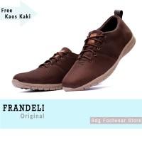 08bd78f479d Sepatu Pria Casual Loafers Kuliah Kerja Santai Formal Frandeli Bless