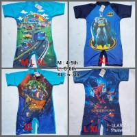 Baju renang diving anak tk cowok laki-laki karakter