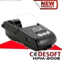 Printer Bluetooth codesoft HP M200E |Printer mobile|Mini Printe therma