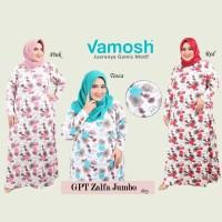 Vamosh GPT Zalfa Big Size Dres  spandek baju muslim Gamis payung hijab