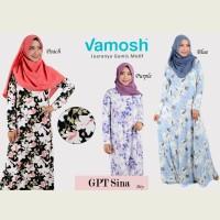 Vamosh GPT Sina Dress / gamis / hijab/gamis spandek /baju muslim
