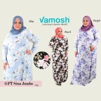 Vamosh GPT Sina Big Size/jumbo  Dres spandek baju muslim Gamis payung
