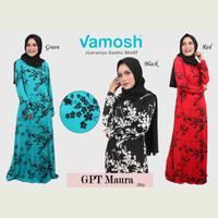 Vamosh GPT Maura Dress payung gamis  hijab/gamis spandek /baju muslim