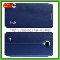 Imak Flip Leather Cover Case Series Samsung Galaxy J N075T Blue